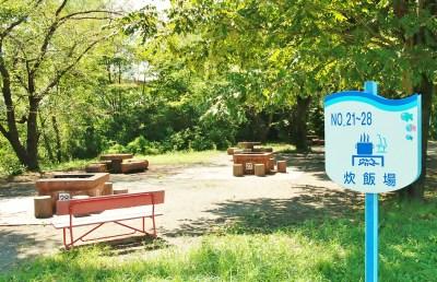 秋ヶ瀬公園バーベキューエリア 場所