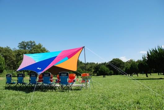 秋ヶ瀬公園 キャンプ