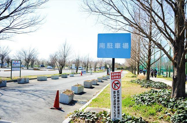 彩湖・道満グリンパークBBQ 南駐車場