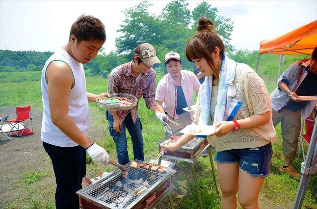 ◆郷土の森 BBQ場 お客様