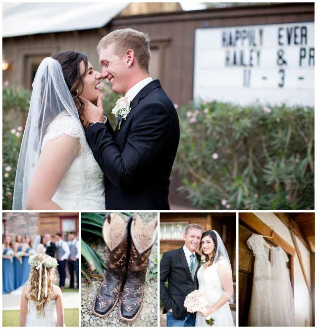 shenandoah mill wedding, preston & hailey, gilbert az