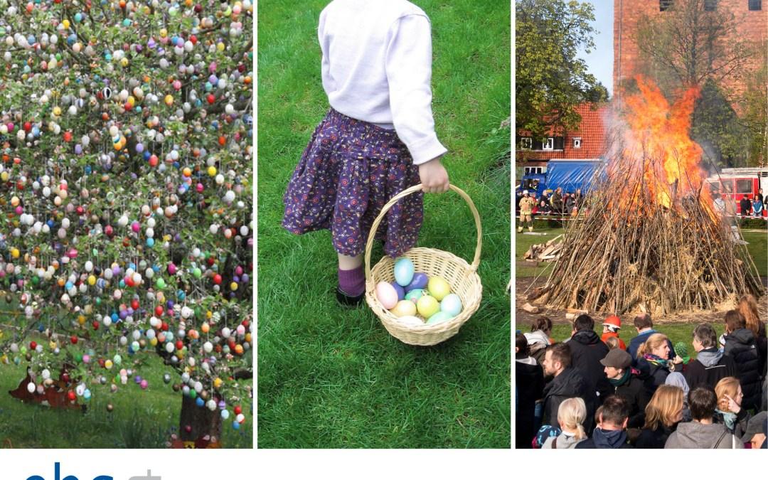 Collega Monica vierde Pasen in Duitsland