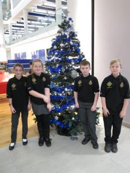 Tree Decorating with 4 kids (Copy)