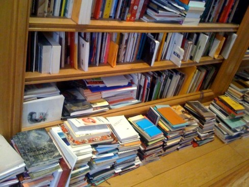 Image result for neat books on shelf