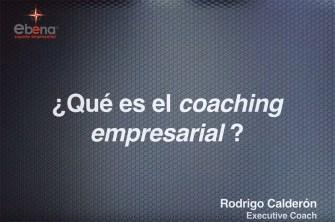 Entrevista 1 – ¿Que es el coaching empresarial?