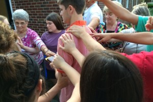 Connected Hands at Ebenezer
