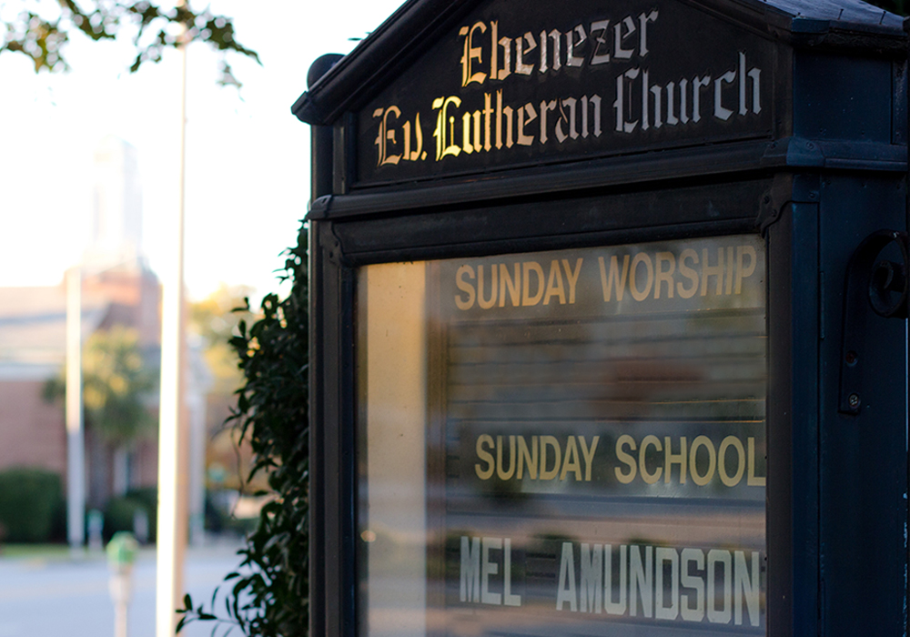 Ebenezer Sign
