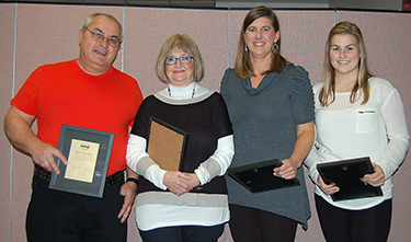 Maryjane Mellmer (Third from left) - Excellence Award Presentation