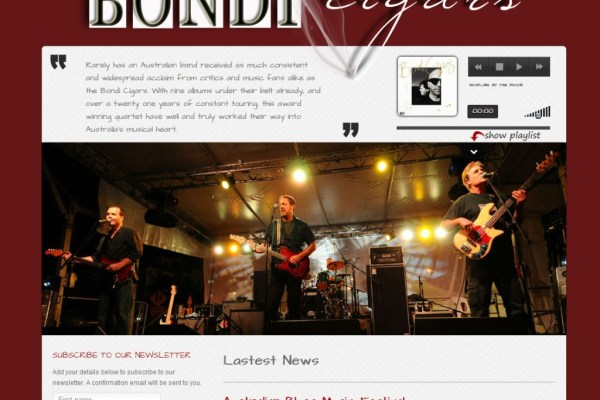 Bondi Cigars - Australian Blues Band