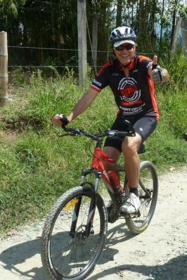 gary cycling photo