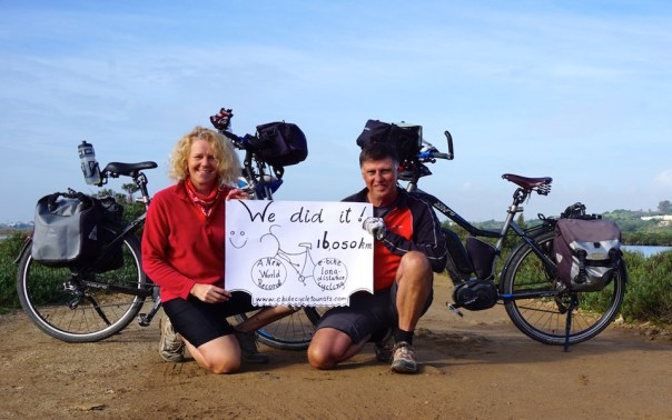 We Broke the E-Bike Long Distance Cycle Touring World Record