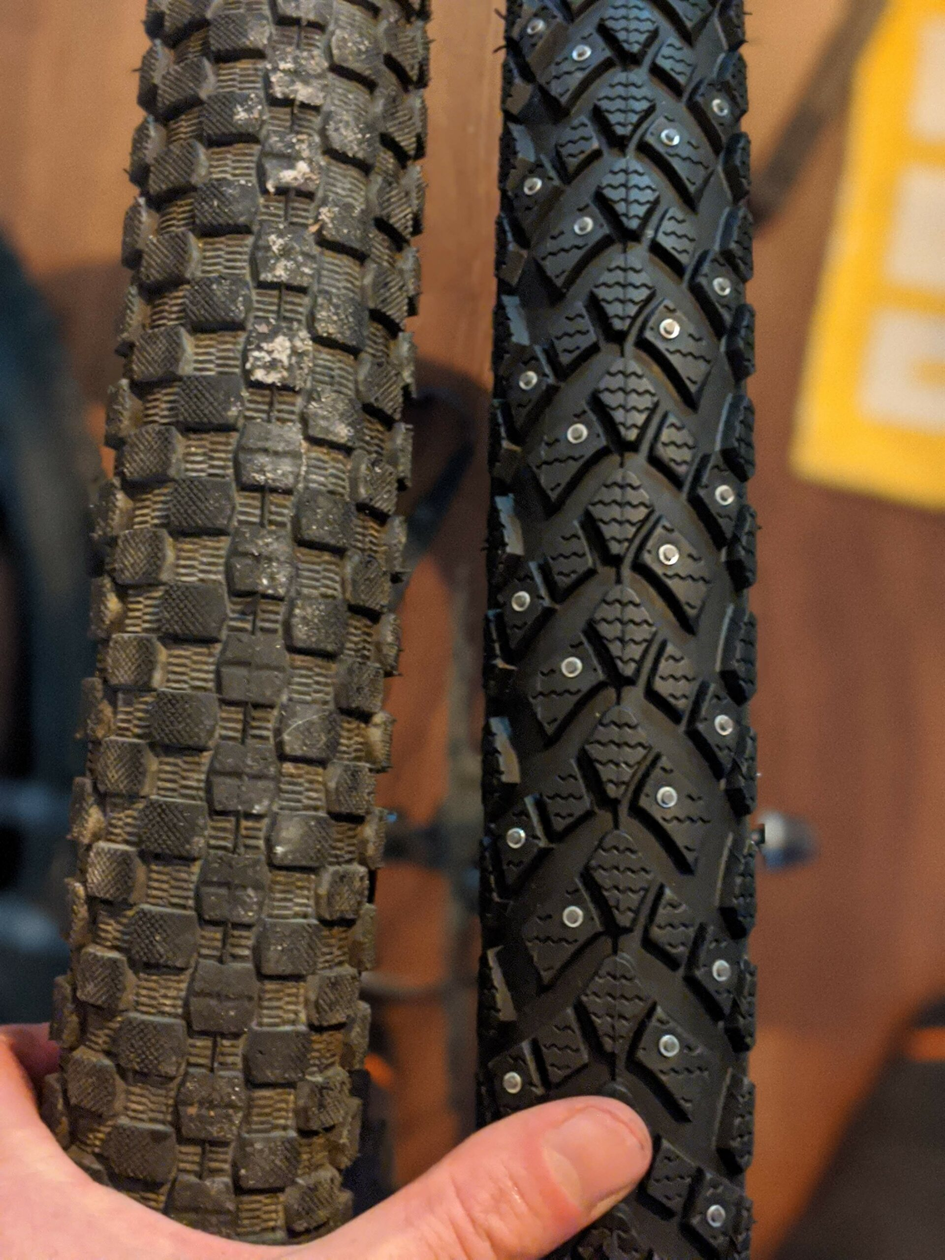 Studded Tires for Winter