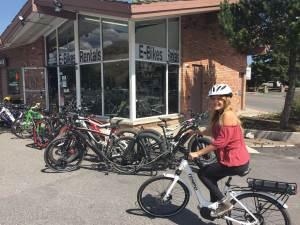 e-Bikes Jackson Hole store