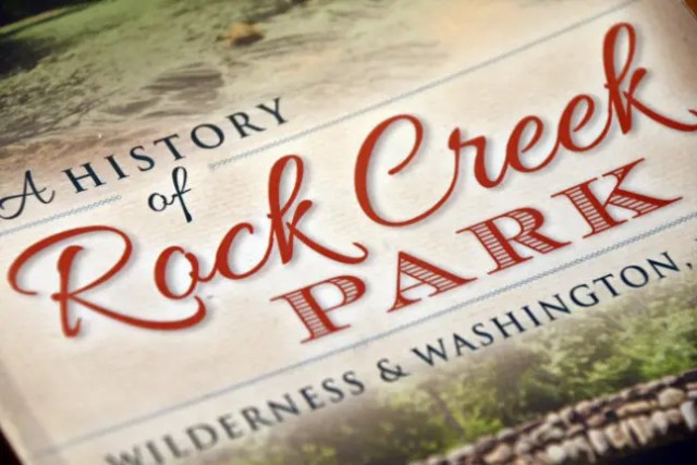 Cover of a history of rock creek park by Scott Einberger - E-bike Lovers