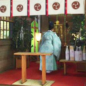 弥生神社 御祈祷