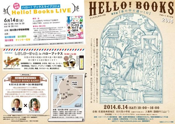 佐渡|HELLO!BOOKS2014に行ってきました。(2014.6)