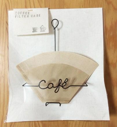 コーヒーフィルターホルダー正面から