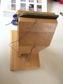 初めての革小物づくりで糸切りばさみケースが完成。ものづくり日記。
