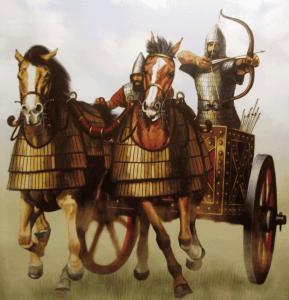 Assyrian war chariot