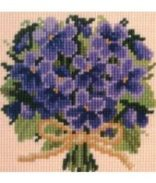 MINI POSY OF VIOLETS-E
