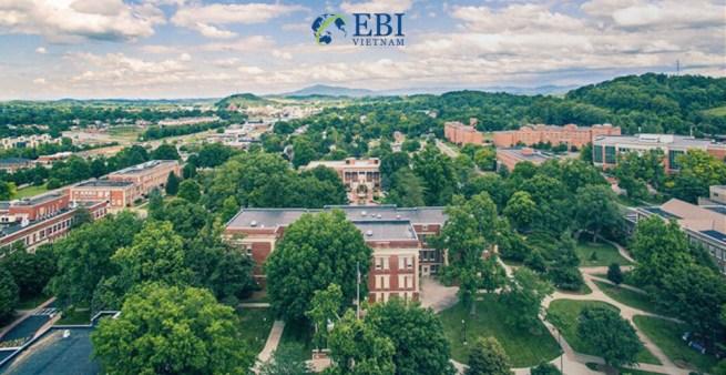 Khuôn viên đại học East Tennessee