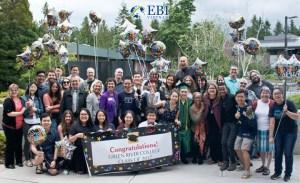 Lễ tốt nghiệp tại cao đẳng Green River