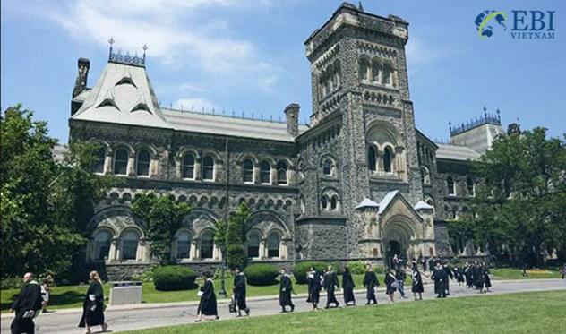 Du học Canada tại trường đại học Toronto danh tiếng