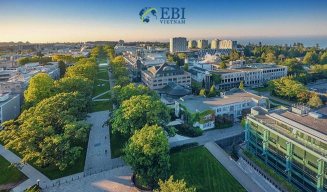 Khuôn viên Vancouver, Đại học British Columbia Canada