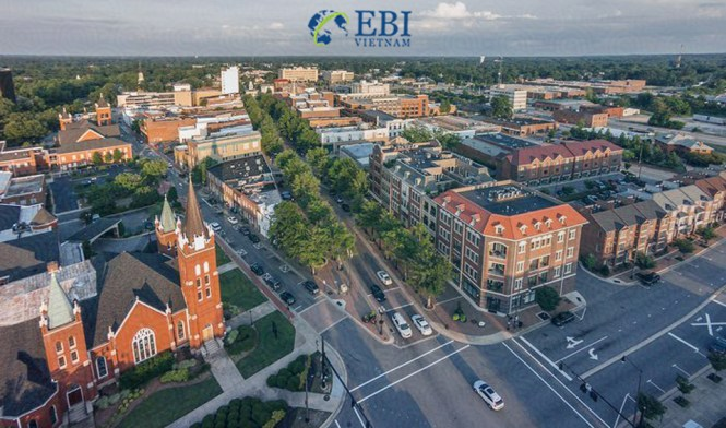 Nơi sinh hoạt giá rẻ tại Mỹ: Thành phố Fayettevillegi