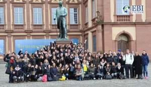 Ảnh chụp sinh viên đại học tổng hợp Mannheim