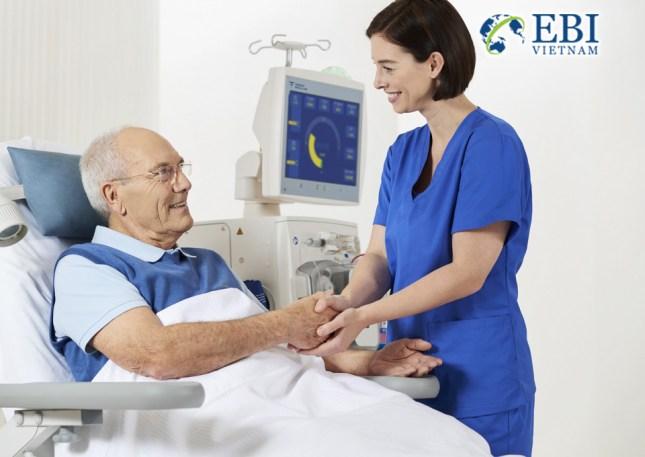 Cơ hội việc làm tại Đức: Ngành điều dưỡng - chăm sóc sức khỏe