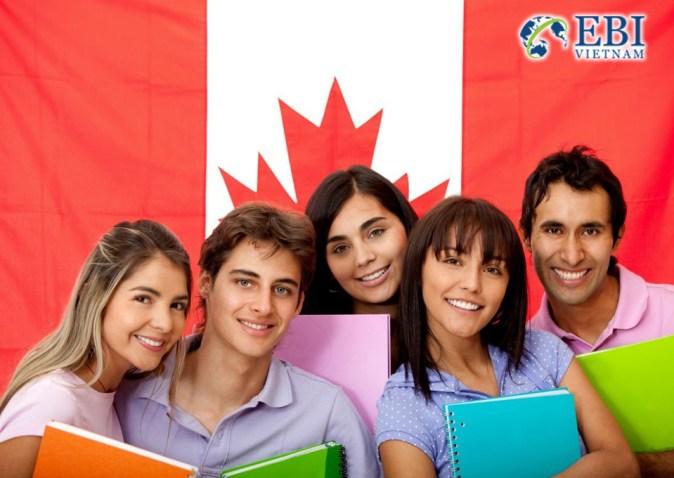 Du học sinh tại Canada.