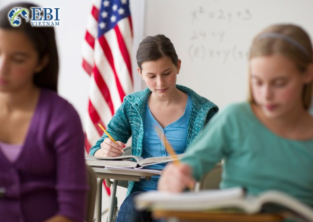 Du học THPT tại Mỹ.