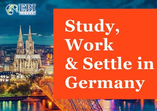 Học tập, làm việc và định cư tại Đức.