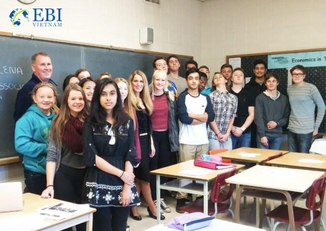 Du học THPT tại Canada.