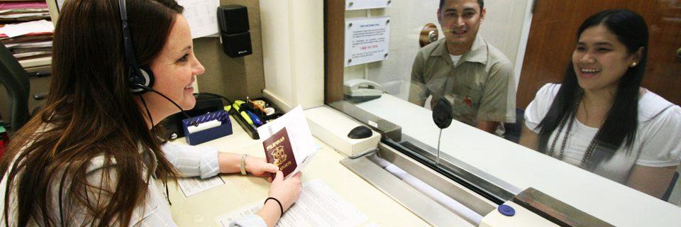 Phỏng vấn xin visa du học.