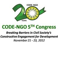 CODE-NGO 5th Congress (Public Registration)