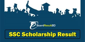SSC Scholarship Result