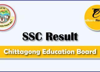 SSC Result Chittagong Education Board
