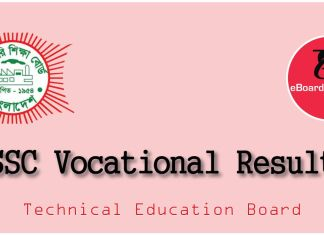 SSC Vocational Result 2018
