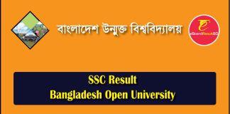 Bangladesh Open University SSC Result