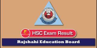 HSC Exam Result 2018 Rajshahi Education Board