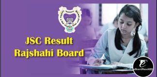 JSC Result 2019 Rajshahi Board