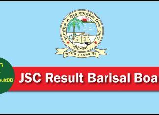 JSC Result 2018 Barisal Education Board