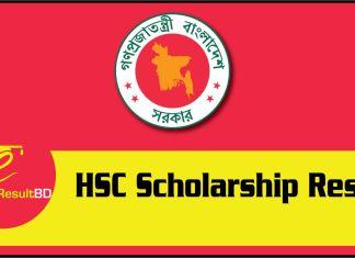 HSC Scholarship Result
