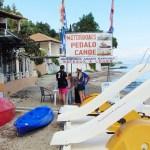 motorboats canoe pedalo perama