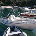 amore 2 lakka boat hire
