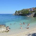 Gaios Paxos beach