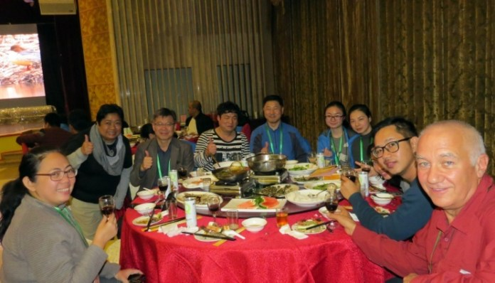 Welcome Dinner at Lu Fang Hotel