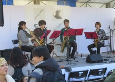 String quartets and Jazz ensambles composed of university students also performed.